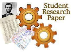 Example Student Research Paper - ReadWriteThink